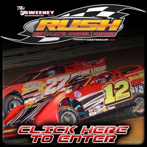 Enter the RUSH Dirt Late Model Website