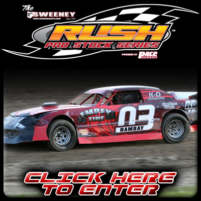 Enter RUSH Pro Stock Website